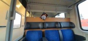 Sedadla vozu Bmz 224