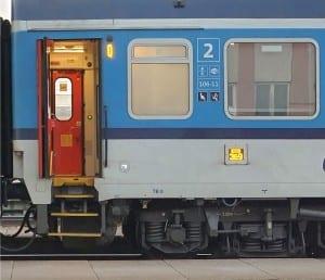 Dveře vozu Bmz 224