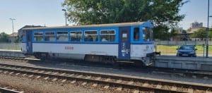 Kroměříž a 1. nástupiště