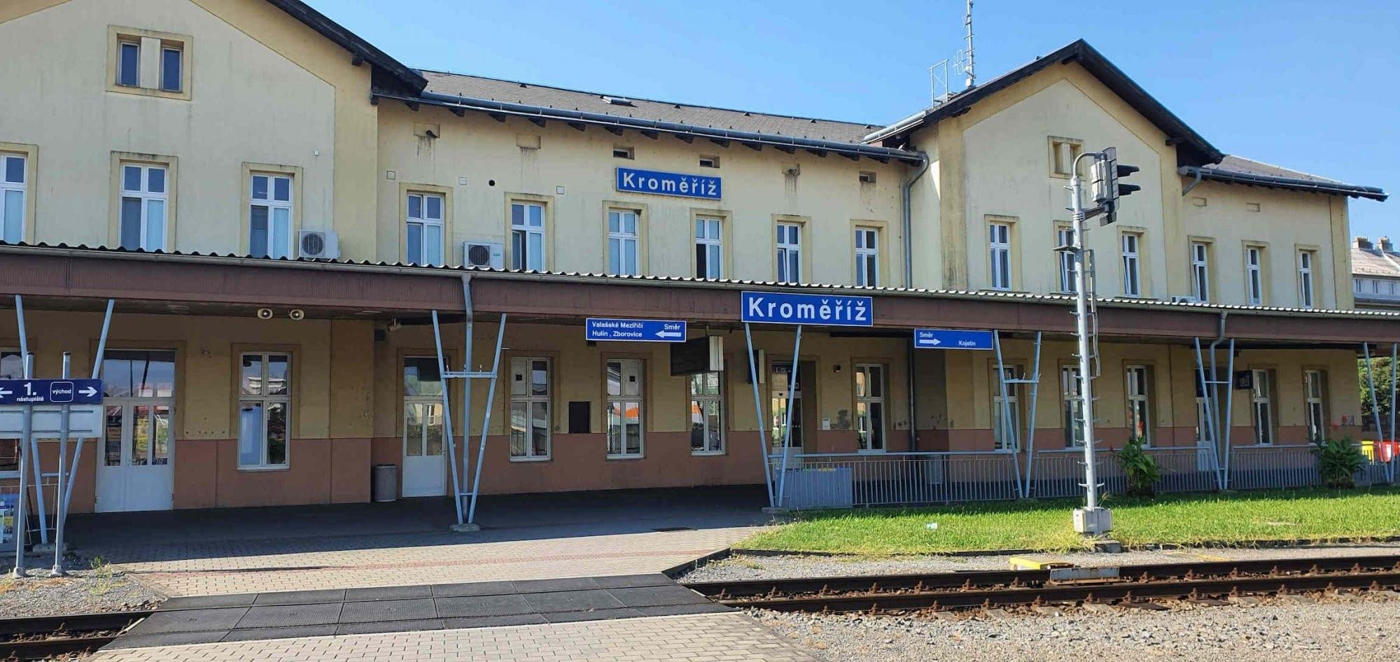 Nádraží Kroměříž