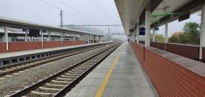 Na nádraží v Řikoníně