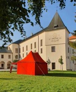 Vyškovský zámek a park