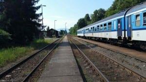 Železniční zastávka Baška