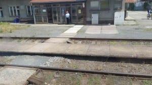 Baška vlakem