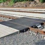 Přístup na vlak v Branné