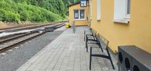 Branná - čekárna, nádraží