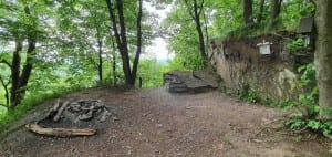 Zřícenina hradu Hluboký