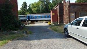 Kudy na vlak ve Frenštátu pod Radhoštěm