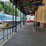Čekárna na nádraží Jeseník