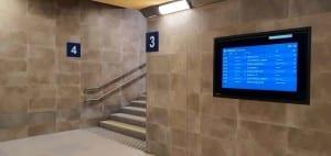 Podchod na nádraží v Křižanově
