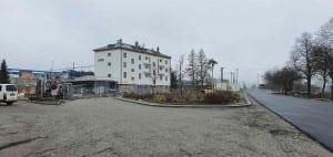 Nádraží v Křižanově po modernizaci na jaře 2021