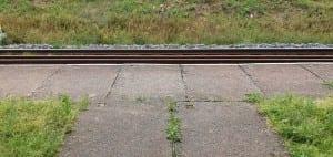 Kudy na nástupiště na zastávce Lipová lázně