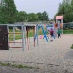 Dětské hřiště u žel. zastávky Lipová lázně