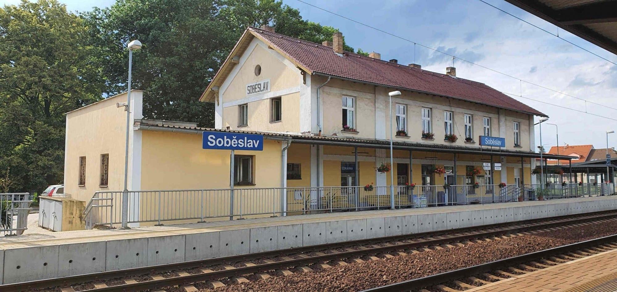 Nádraží Soběslav