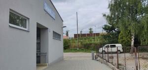 Přístup na vlak ve Skleném nad Oslavou