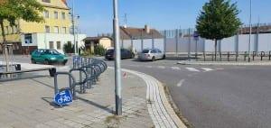 Parkování v Třebíči