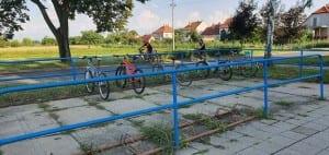 Parkování u nádraží Vracov