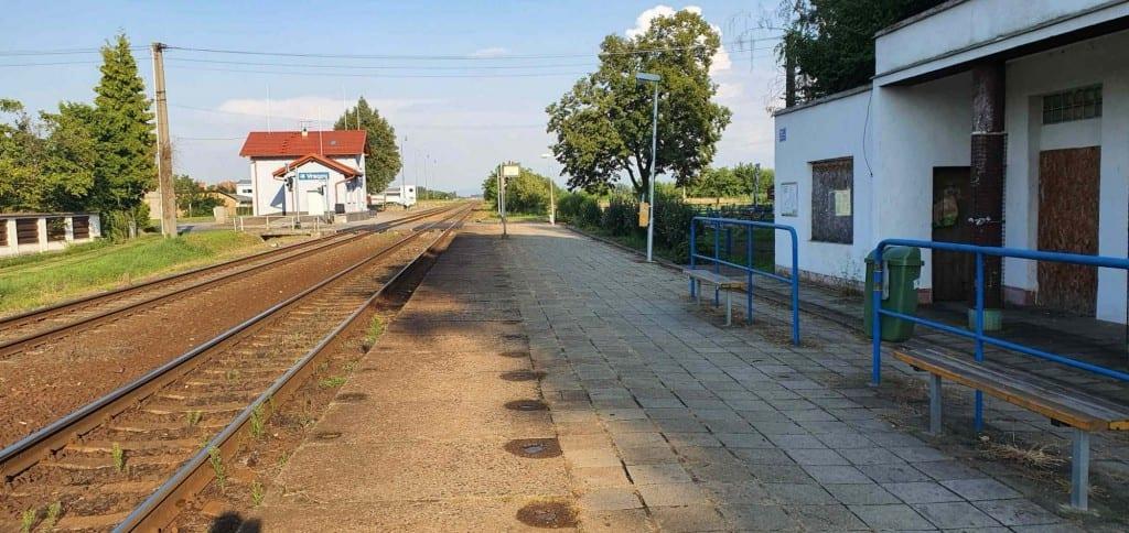 Vlaková zastávka Vracov