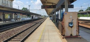 Nádraží v Chocni, 2. nástupiště