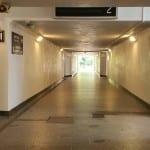 Podchod pod nádražím v Chocni