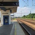 Choceň 3. nástupiště