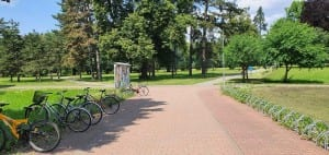 Zámecký park v Chocni