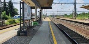 Choceň 1. nástupiště