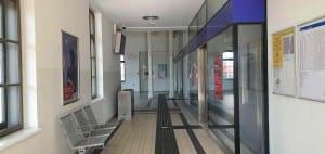 Čekárna na nádraží Gänserndorf