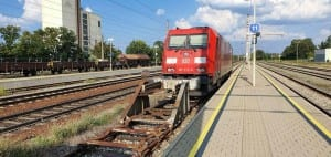 Vlakem do Gänserndorf