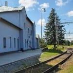 Ivanovice na Hané vlakem