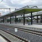 Přestupní uzel a nádraží Praha-Zahradní Město