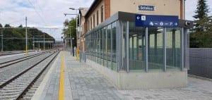 Střelice podchod pod nádražím